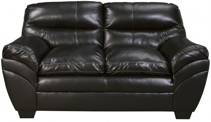 Tassler Durablend Black Loveseat