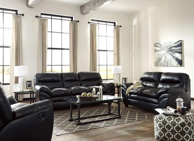 Tassler Durablend Black Living Room Set