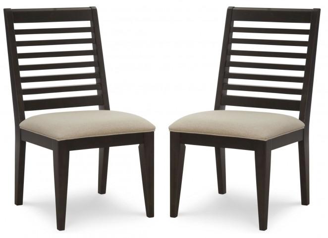 Helix Slat Back Side Chair Set of 2