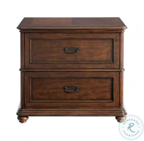 Clinton Hill Classic Cherry Lateral File Cabinet