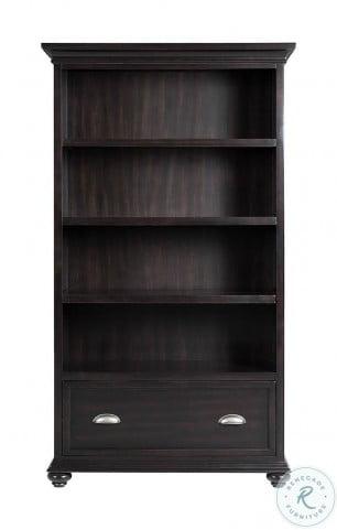 Clinton Hill Kohl Black Open Bookcase