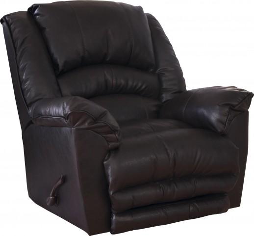 Fillmore Godiva Bonded Leather Recliner