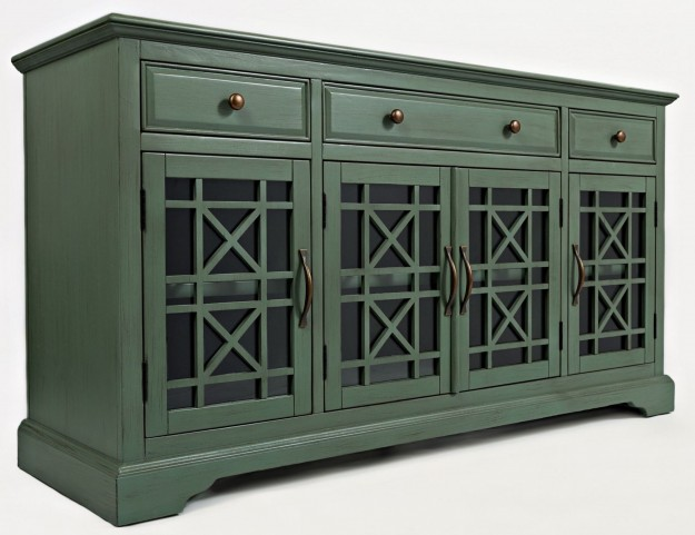 """Craftsman Antique Jade 60"""" Media Unit"""
