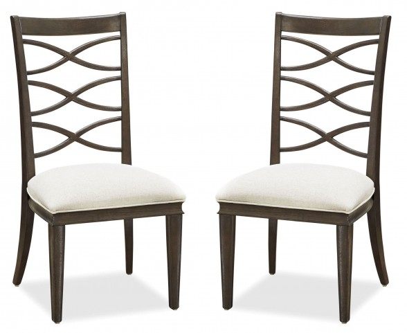 California Hollywood Hills X-Back Side Chair Set of 2