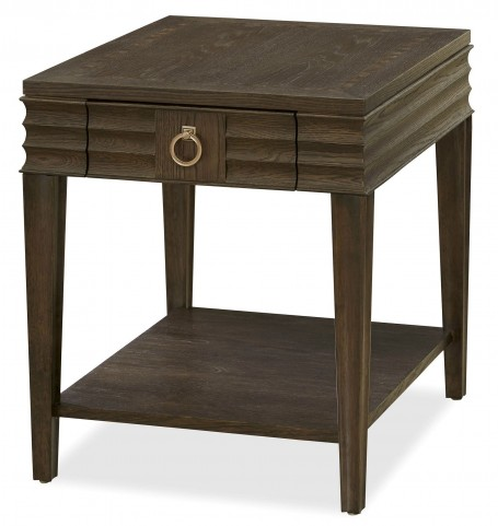 California Hollywood Hills Drawer End Table