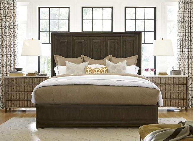 California Hollywood Hills Platform Bedroom Set