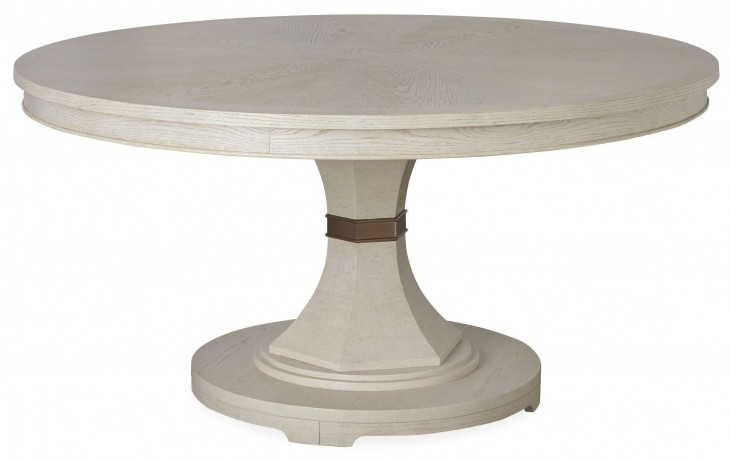 California Malibu Round Extendable Dining Table