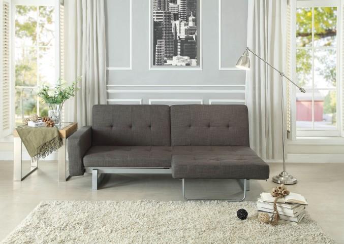 Crispin Grey Elegant Lounger