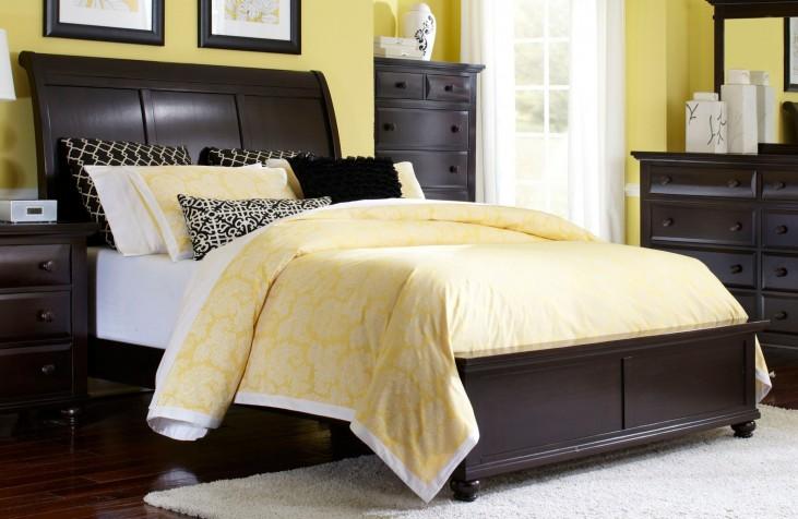 Farnsworth King Sleigh Bed