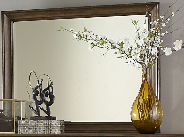 Amelia Antique Toffee Mirror