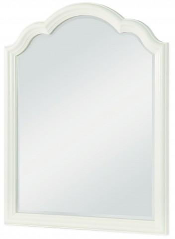 Harmony Antique Linen White Mirror