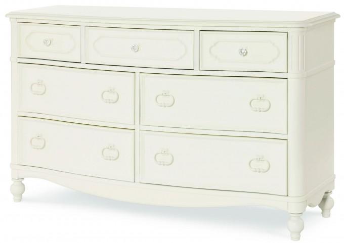 Harmony Antique Linen White 7 Drawer Dresser