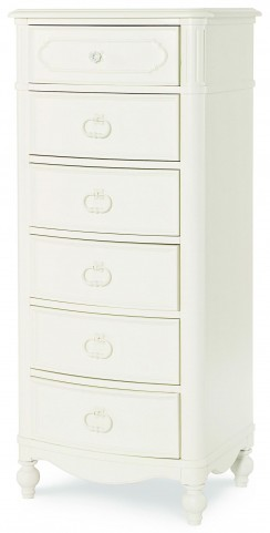 Harmony Antique Linen White 6 Drawers Lingerie Chest