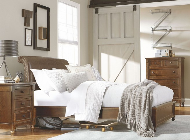 Big Sur Saddle Brown Youth Monterey Platform Bedroom Set