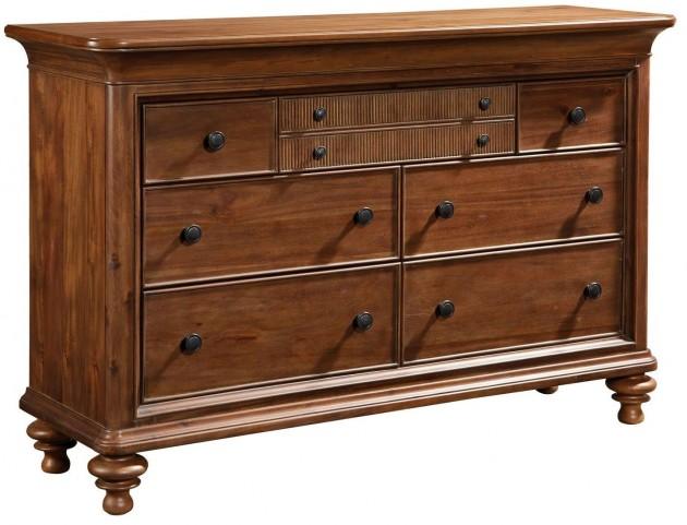 Cascade Arid Brown Drawer Dresser
