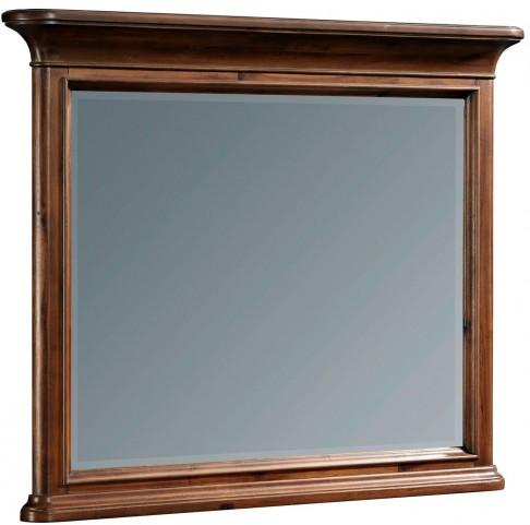 Cascade Arid Brown Dresser Mirror