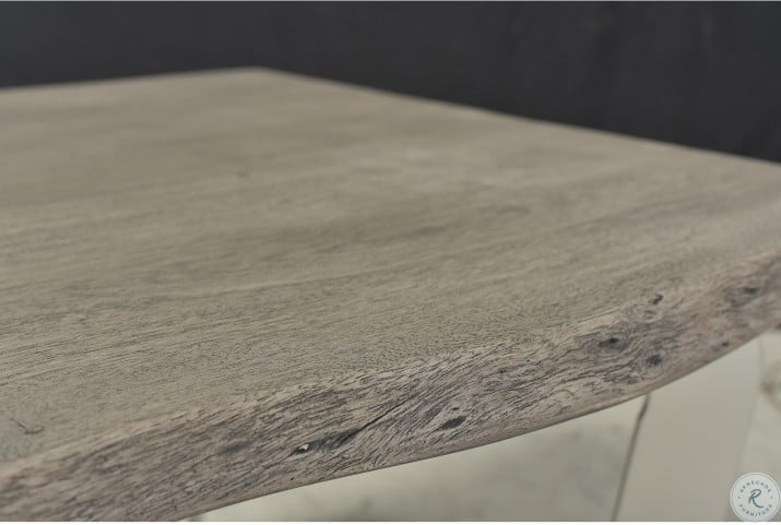 Waverly Sandblasted Gray Cocktail Table