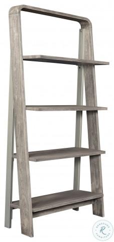 Waverly Sandblasted Gray Bookcase