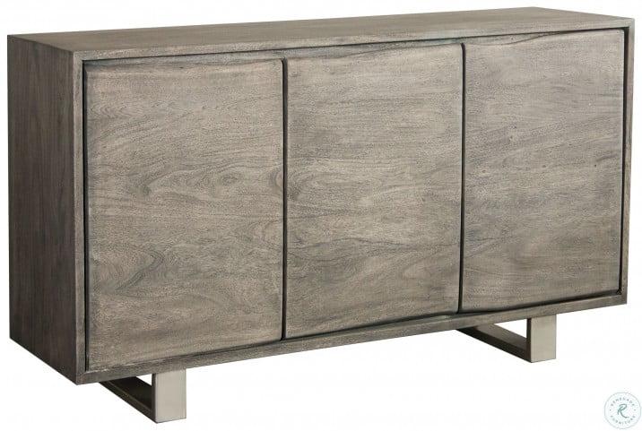Waverly Sandblasted Gray Sideboard