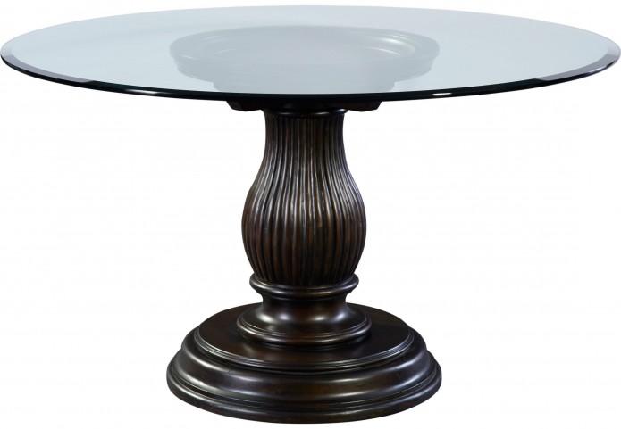 "Jessa 54"" Adjustable Height Round Dining Table"