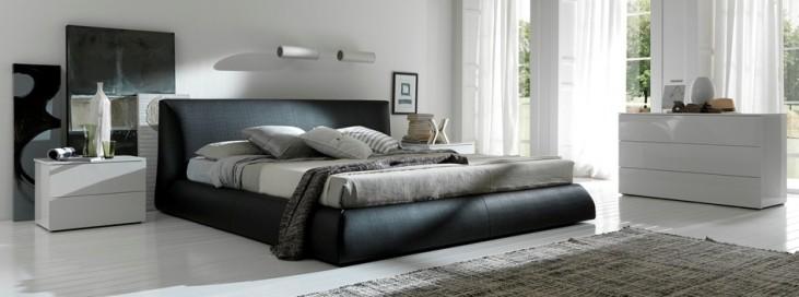 Coco Brown Platform Bedroom Set