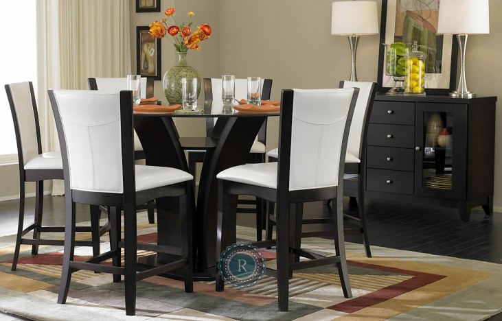 Daisy Round Counter Height Dining Room Set