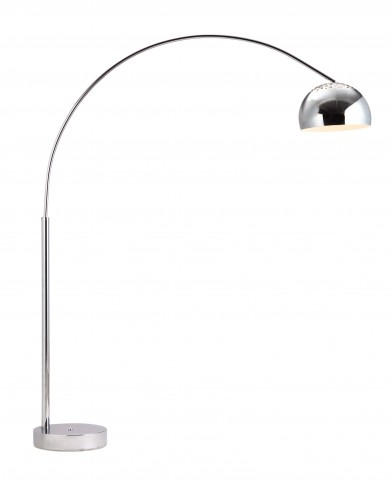 Galactic Chrome Floor Lamp From Zuo Mod 50019 Coleman