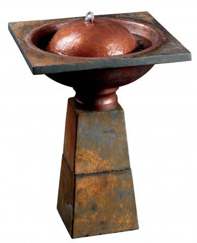 Cauldron Birdbath Fountain