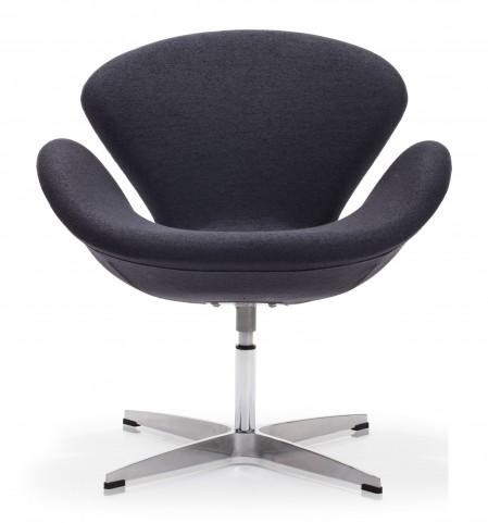 Pori Iron Gray Arm Chair