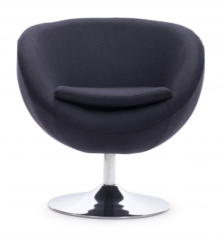 Lund Iron Gray Arm Chair