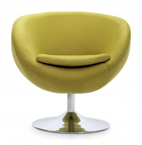 Lund Pistachio Green Arm Chair