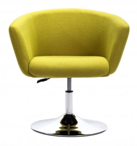 Umea Pistachio Green Arm Chair