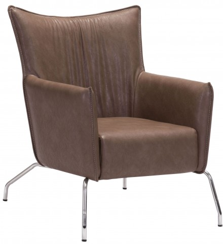 Ostend Saddle Brown Occasional Chair