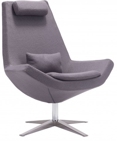 Bruges Charcoal Gray Occasional Chair