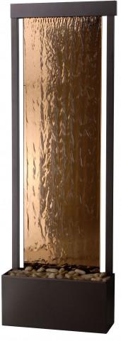 Glissade Bronze Floor Fountain