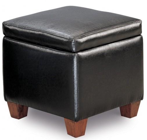 Black Ottoman
