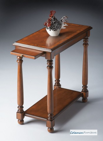 Olive Ash Chairside Table