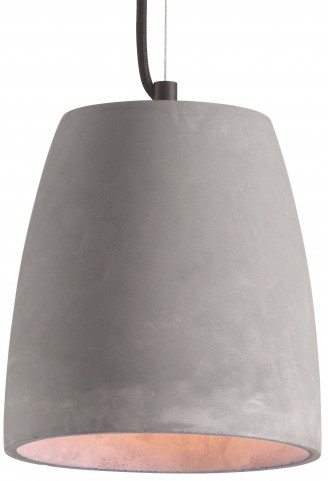 Fortune Concrete Gray Ceiling Lamp