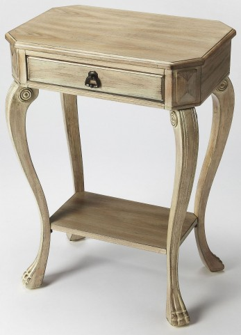Channing Driftwood Console End Table