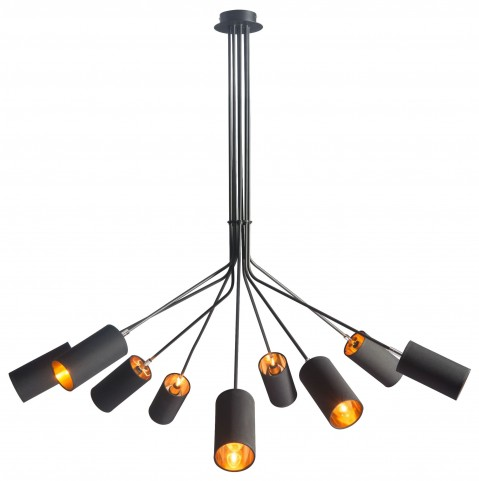 Ambition Black Ceiling Lamp