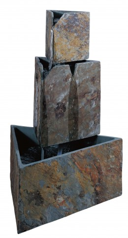 Stacked Triangles Fountain