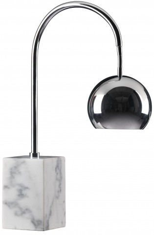 Run Chrome Table Lamp