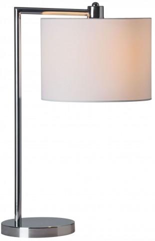 Race Chrome Table Lamp