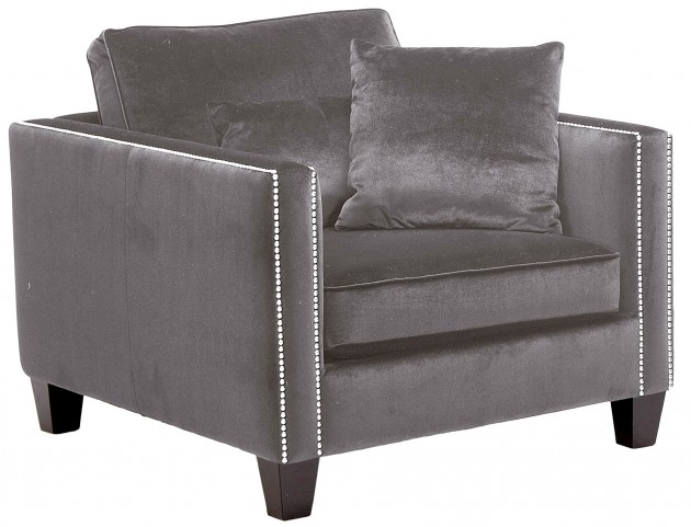 Cathedral Armchair In Grey