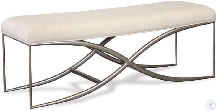 """Sophie Natural Upholstered 48"""" Bed Bench"""