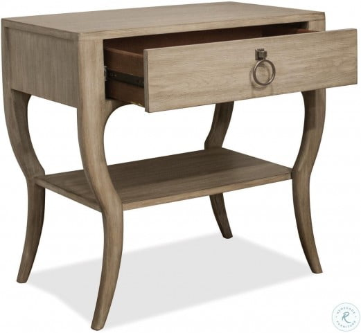 Sophie Natural Accent Nightstand