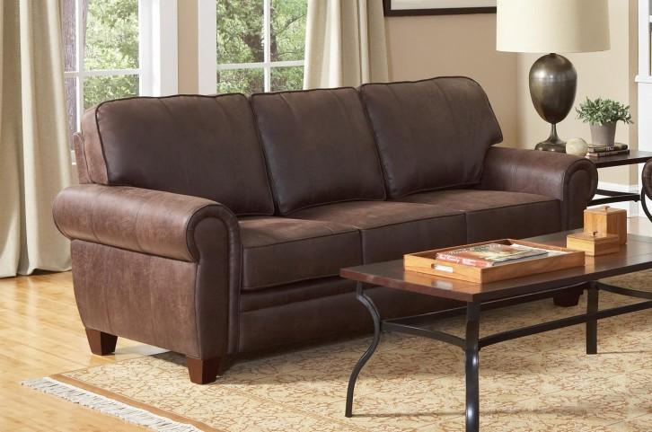 Bentley Brown Sofa