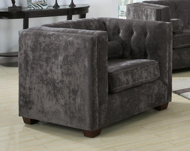 Alexis Charcoal Chair