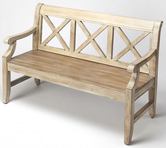 Gerrit Driftwood Bench