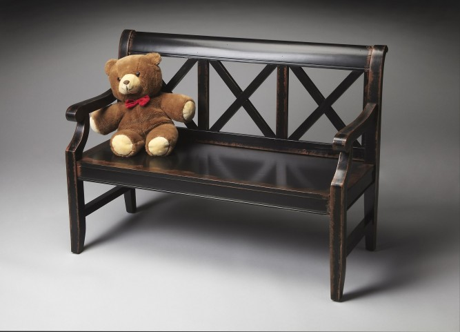 Masterpiece Midnight Rose Bench